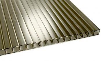 Akcija!Polikarbonatas bronza-pilkas 2100x6000 10mm