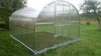 Arkinis polikarbonatinis surenkamas šiltnamis KLASIKA (3 x 2 m) su  4 mm polikarbonatine danga