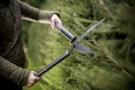 SingleStep gyvatvorių žirklės banguotais ašmenimis FISKARS HS22